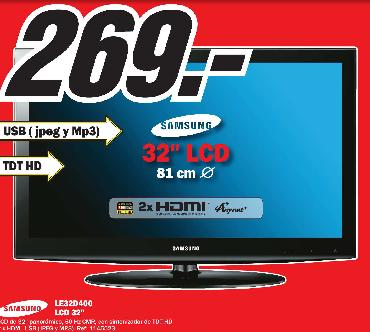 Samsung LE32D400