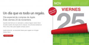 Nos esperan ofertas sobre los productos Apple durante el Viernes Negro, el 25 de noviembre