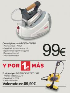 """Ofertas """"Por 1 euro más"""""""