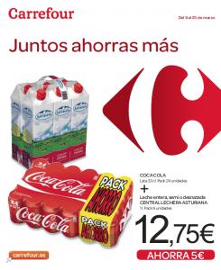 """folleto de Carrefour """"Juntos ahorras más"""""""