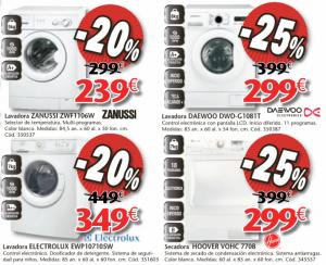 Lavadoras en oferta en el catálogo Conforama