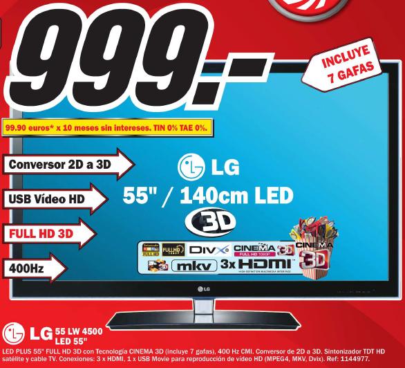 LG 55LW4500
