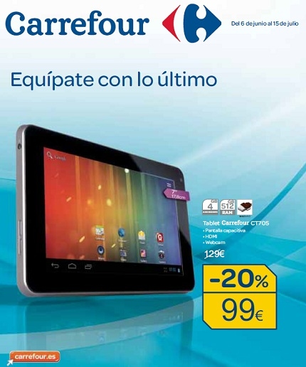 Folleto tecnológico de Carrefour