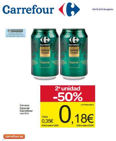 Folleto hipermercados carrefour share the knownledge - Ofertia folleto carrefour ...