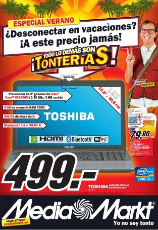 Nuevo folleto de Media Markt (15/8/12 - 25/8/12)