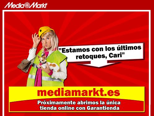 Nueva página web de Media Markt