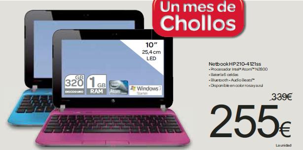 Netbook HP 210-4121SS