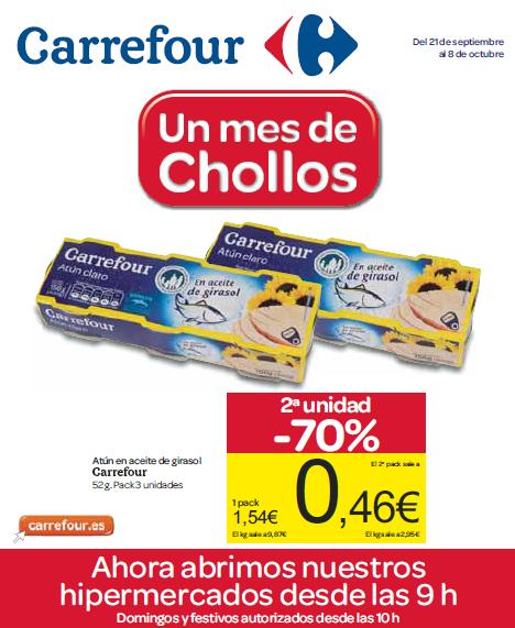Nuevo folleto de Carrefour
