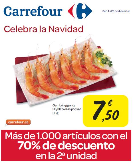 Folleto Carrefour del 14 al 31 de diciembre