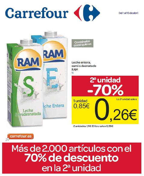 Folleto de Carrefour