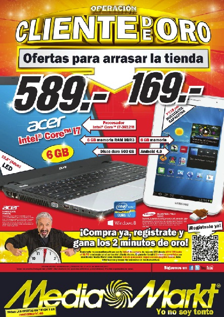 Folleto de Media Markt
